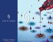 Colour Chart Live In ColourTM - Sorisa