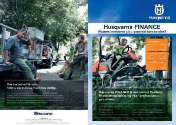Husqvarna FINANCE - C.'t Lam