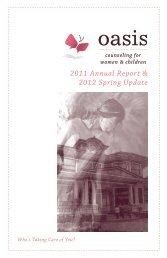 2011 Annual Report & 2012 Spring Update