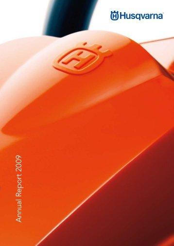Annual Report 2009 - Husqvarna Group