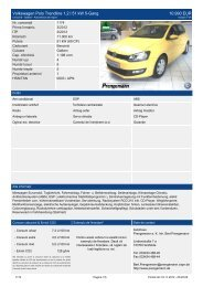 Volkswagen Polo Trendline 1,2 l 51 kW 5-Gang 10.990 EUR