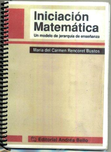 iniciacion a la matematica