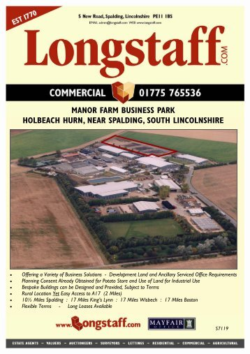 Manor Farm Business Park (S7119) (April) - Longstaff