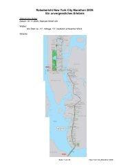 Reisebericht New York City Marathon 2009: Ein unvergessliches ...