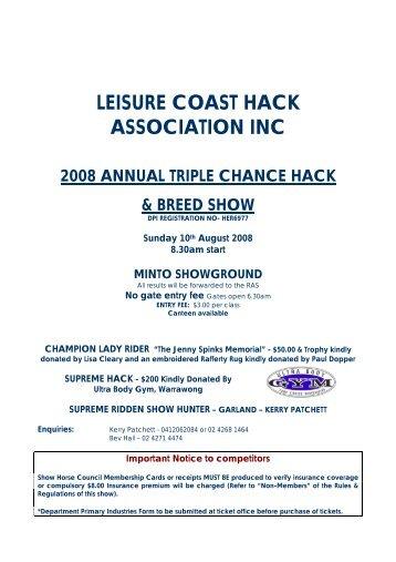Minto Triple Chance.pdf - Horse Deals