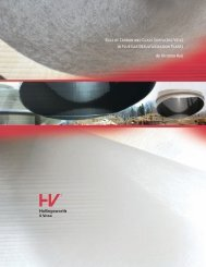 Role of Carbon and Glass Surfacing Veils in Flue Gas ...
