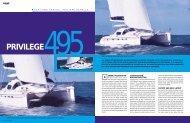 56-59 - PRIVILEGE 495 US - Multihulls World