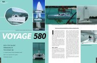 size is the salient impression of the voyage 580 - Multihulls World