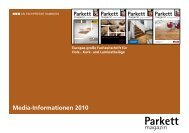 Parkett - Pressrelations GmbH