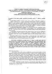 PODLE § 7 ZÁKONA č. 95/1999 Sb., O PODMÍNKÁCH PŘEVODU ...
