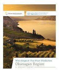 Wine Grape & Tree Fruit Production Okanagan Region Snapshot ...