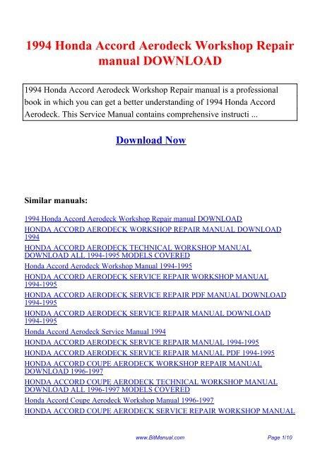 1991 1994 honda cbr600f2 workshop repair manual download
