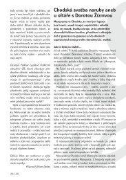 Třetí část časopisu 3/2005 ke stažení - Folklorní sdružení ČR