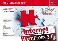MEDIADATEN 2011 - Pressrelations GmbH