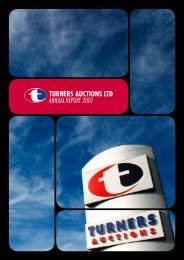 December 2007 Full Annual Report - Turners Auctions