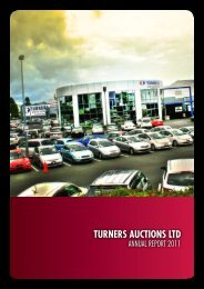 December 2011 Full Annual Report - Turners Auctions