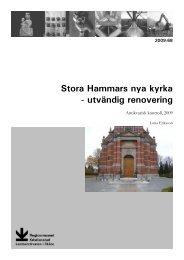 Stora Hammars nya kyrka - Regionmuseet Kristianstad