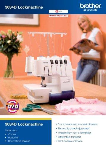 3034D Lockmachine 3034D Lockmachine - Matri