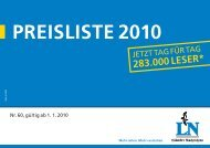 preisliste 2010 - Pressrelations GmbH