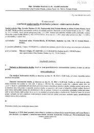 Usnesení o nařízení opakovaného dražebního jednání - Pražmo