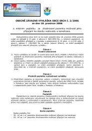 OBECNĚ ZÁVAZNÁ VYHLÁŠKA OBCE SRCH č. 2/2006 ze dne 18 ...