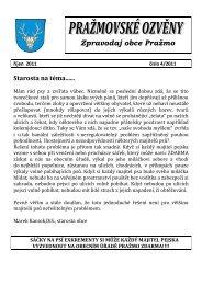 ozveny rijen 2011.pdf - Pražmo