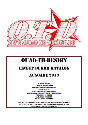 Download Katalog - quad-th-design