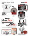 Catalogs Brochures Promotional Marketing Material - BrakeQuip - Page 2