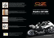 Replica OZ SBK - alpha Technik