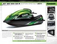 JET SKI® 800 SX-R ÉDITION SPÉCIALE 2011 - Passion Performance