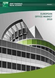 EUROPEAN OFFICE MARKET 2010 - DANOS