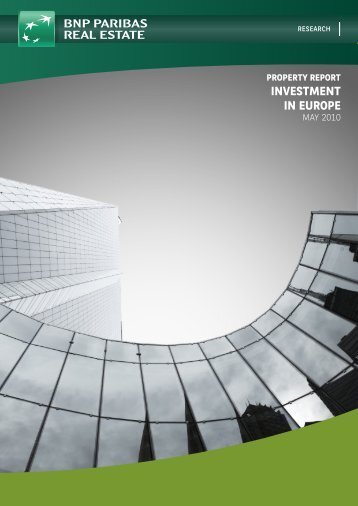 property report investment in europe - DANOS