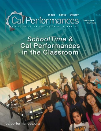 Schooltime - Cal Performances - University of California, Berkeley
