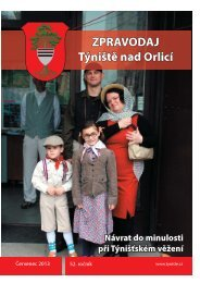 Týnišťský zpravodaj - Červenec 2013