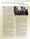The Orville and Ester Beth Rogers Prayer Ministry - Dallas Baptist ... - Page 2