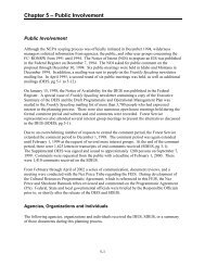 Chapter 5 – Public Involvement - USDA Forest Service