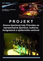 city arena - Mesto Prievidza
