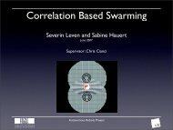 Correlation Based Swarming - EPFL