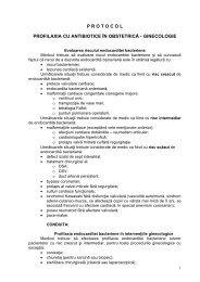 Protocol pentru profilaxia cu antibiotice - Spitalul Clinic Municipal de ...