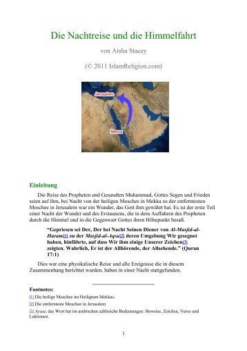 Die Nachtreise und die Himmelfahrt - Way to Allah
