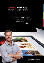 Nieuw! Spandex Hardware Brochure (PDF)