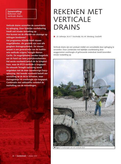 pdf artikel - Geotechniek