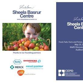 Sheela Basrur Centre - CEPD University of Toronto