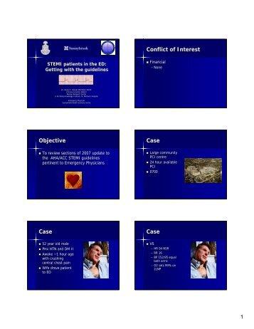 Conflict of Interest Objective Case Case Case - CEPD University of ...