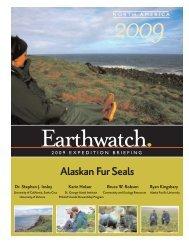 Alaskan Fur Seals - Earthwatch Institute
