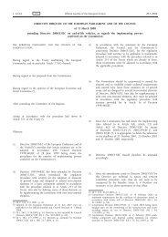 DIRECTIVE 2008/33/EC OF THE EUROPEAN ... - EUR-Lex