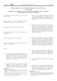 DIRECTIVE 2008/34/EC OF THE EUROPEAN ... - EUR-Lex