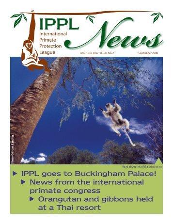 IPPL goes to Buckingham Palace! - International Primate Protection ...