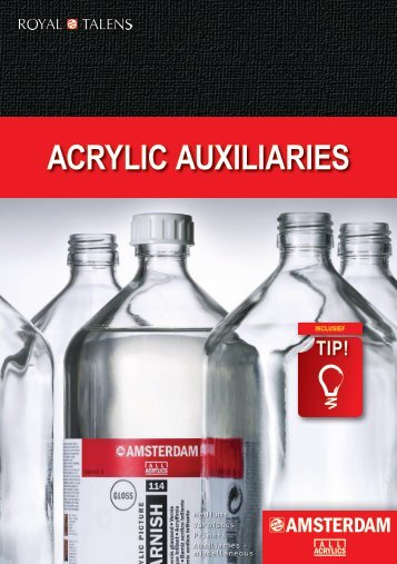 ACRYLIC AUXILIARIES