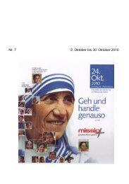 Sankt Maria Aktuell Oktober 2010 - Kath. Seelsorgeeinheit Oberes ...